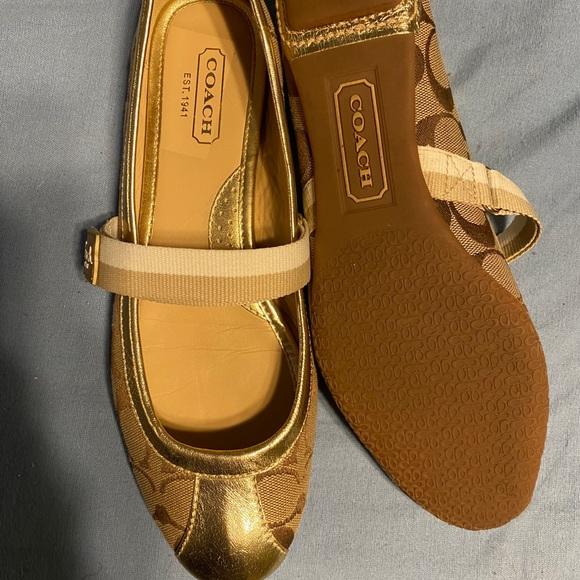 Coach ballet type shoes